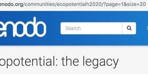 ECOPOTENTIAL community on Zenodo